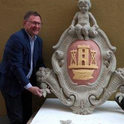 Restauratoriai atkūrė romantiškosios Klaipėdos simbolį
